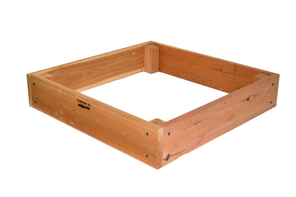 "Rectangular 10"" deep Raised Beds with Posts"