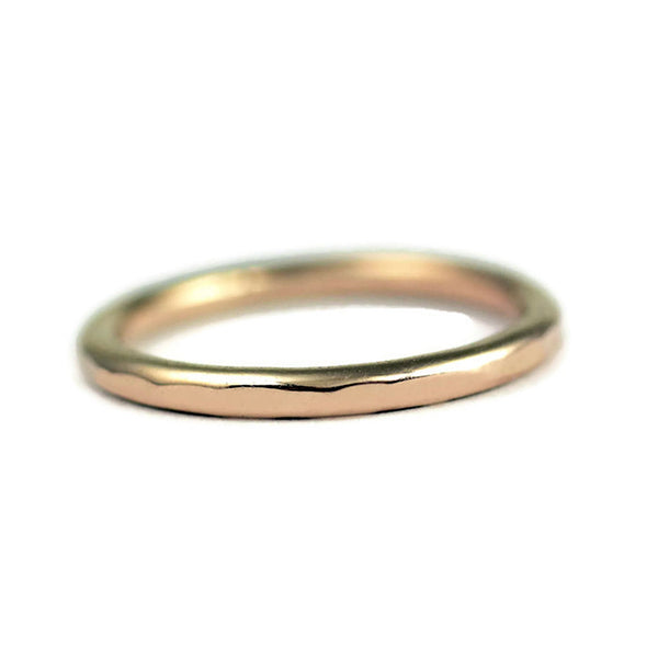 14 karat gold wedding band