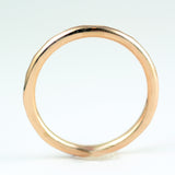 14 karat yellow gold wedding band