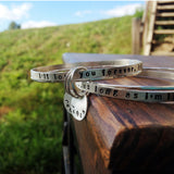 mom bracelet bangle set
