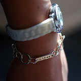 custom personalized word bracelet, word of the year