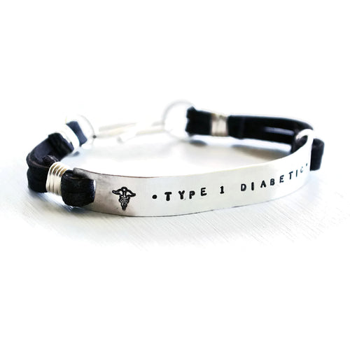 medical alert bracelet for him custom and personalized