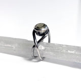Pyrite Twist Ring