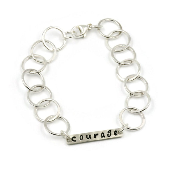 custom word of the year bracelet completely personalized