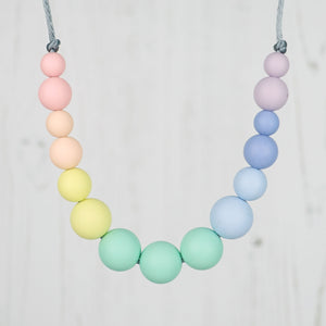 Lindyhop: Dance With Me Teething Necklace - Pebbles and Lace