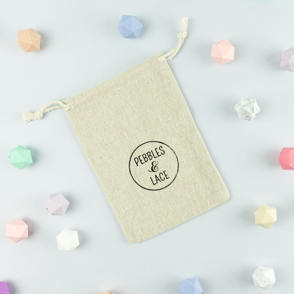 Barcelona: Take Five Teething Necklace