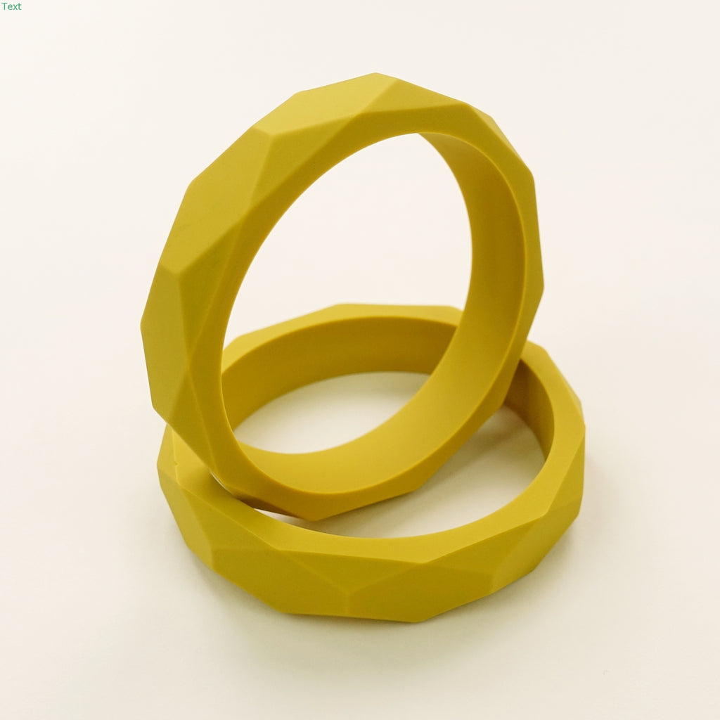Limited Edition Geometric Silicone Teething Bangle
