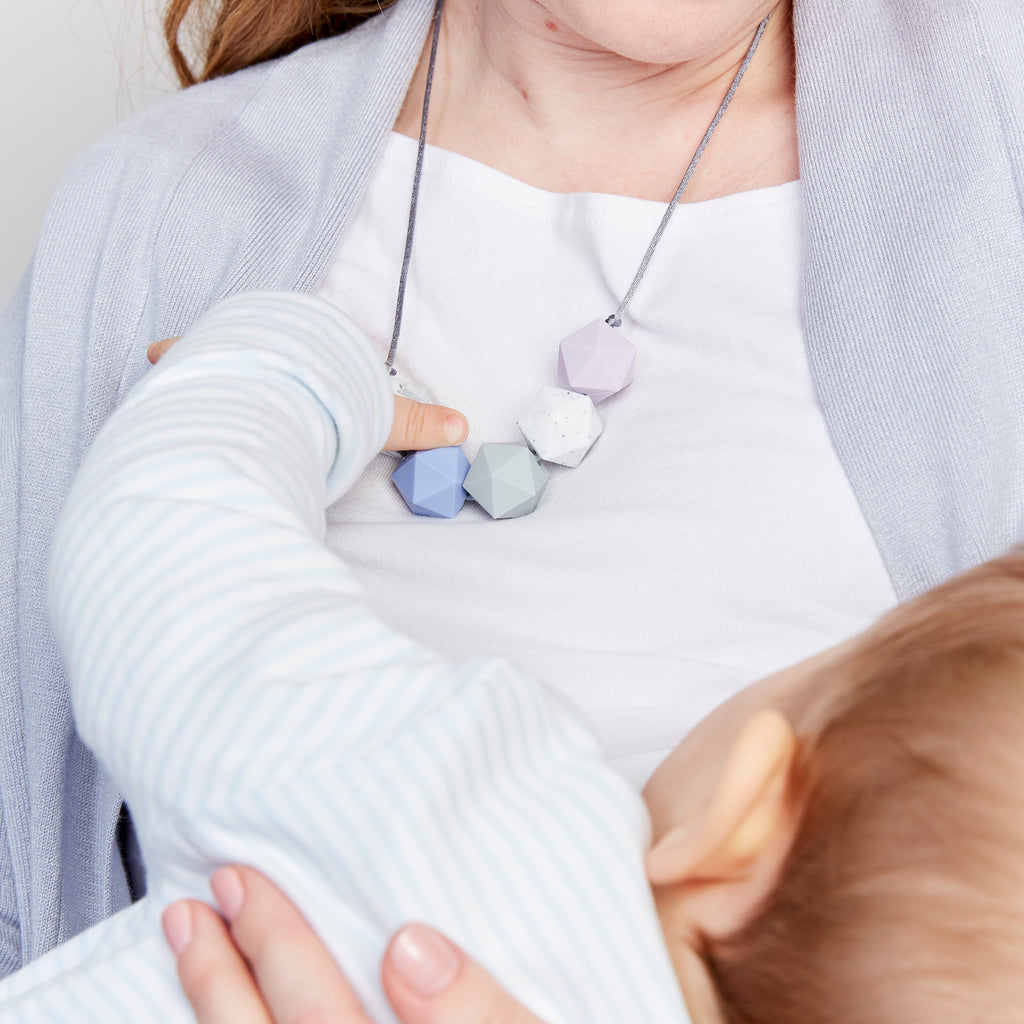 Aries: Five Stars Teething Necklace