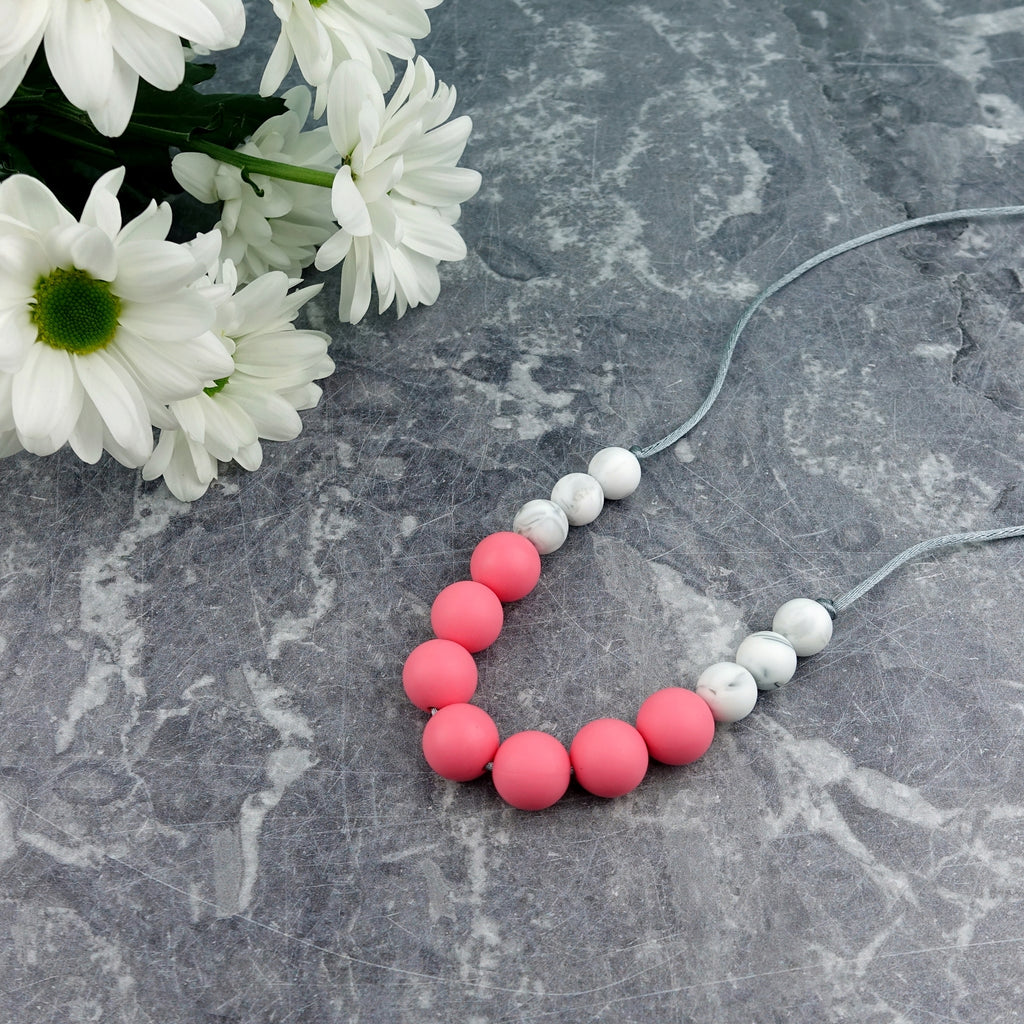 Watermelon Wonder: Bubbles Teething Necklace