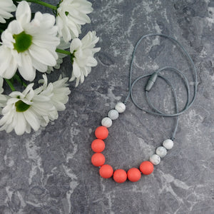 Coral Reef: Bubbles Teething Necklace