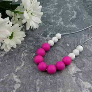 Cerise Berry: Bubbles Teething Necklace