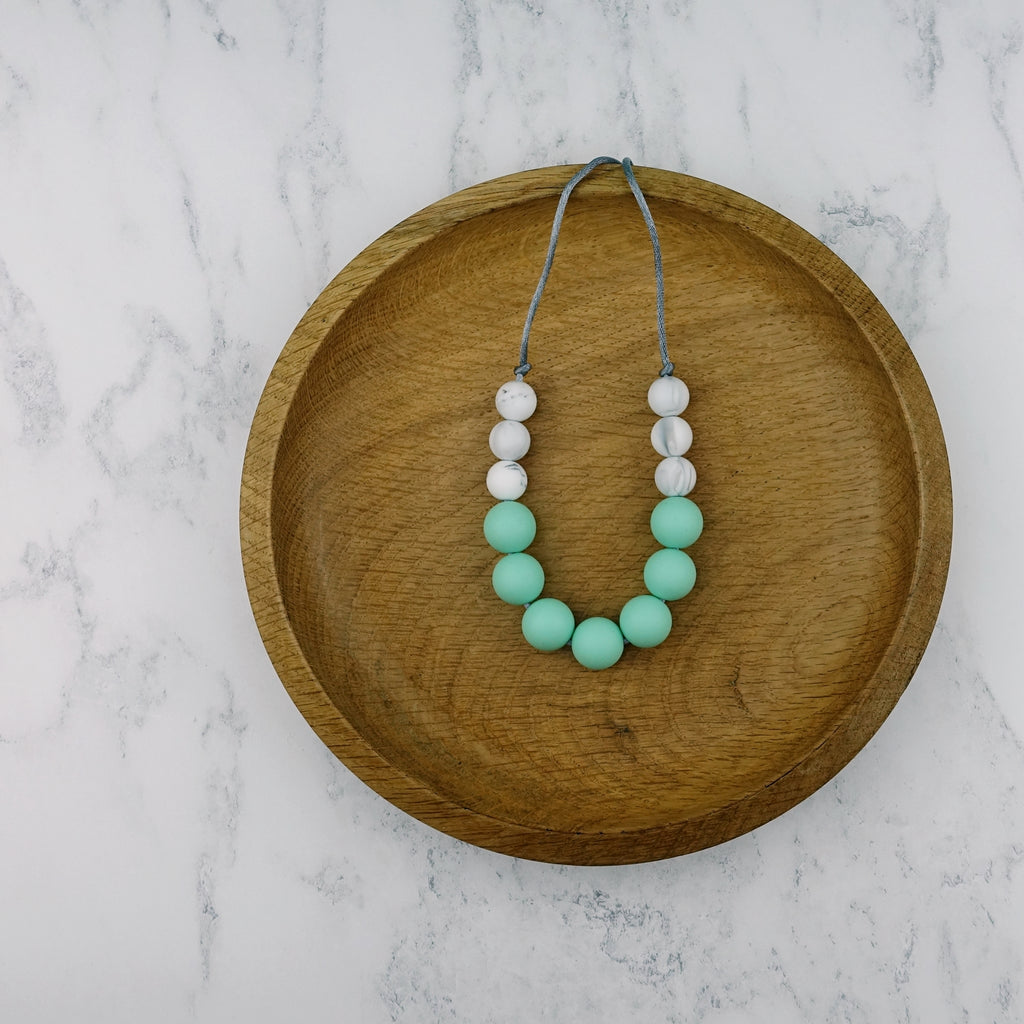 Mint Fizz: Bubbles Teething Necklace