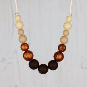 Lambada: Dance With Me Teething Necklace - Pebbles and Lace