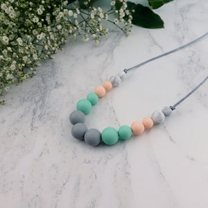 Rumba: Dance With Me Teething Necklace - Pebbles and Lace