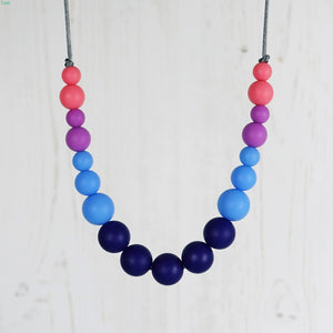 Cha Cha: Dance With Me Teething Necklace - Pebbles and Lace