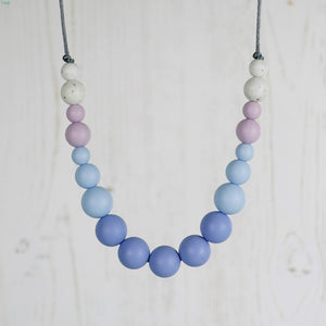 Waltz: Dance With Me Teething Necklace - Pebbles and Lace