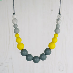 Tango: Dance With Me Teething Necklace - Pebbles and Lace