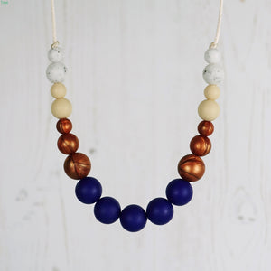 Merengue: Dance With Me Teething Necklace - Pebbles and Lace