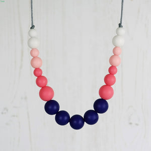 Charleston: Dance With Me Teething Necklace - Pebbles and Lace