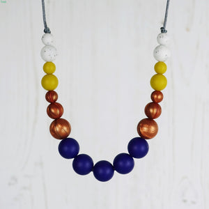 Swing: Dance With Me Teething Necklace - Pebbles and Lace