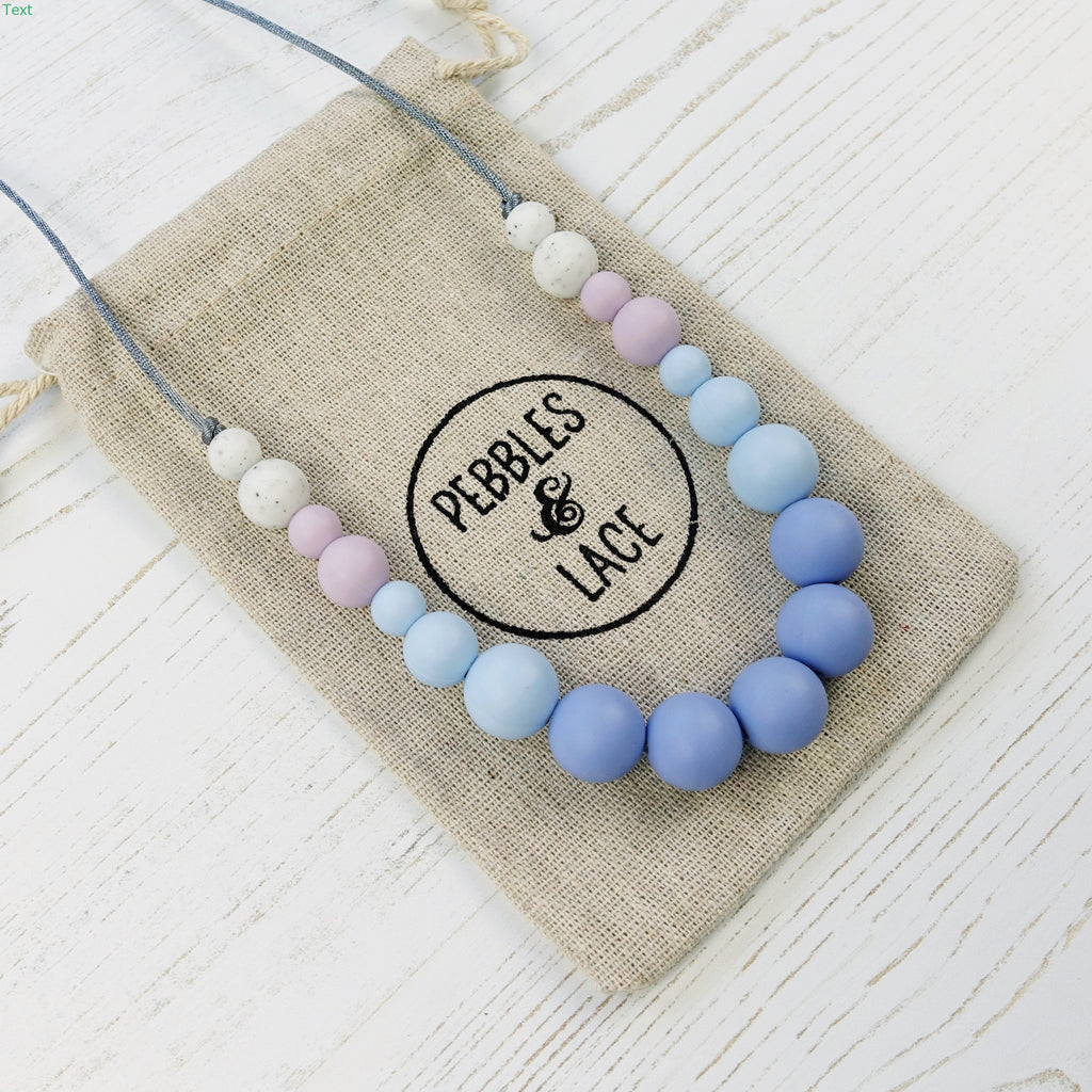 Waltz: Dance With Me Teething Necklace