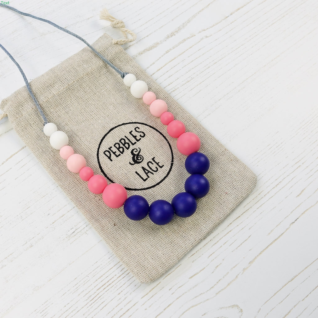Charleston: Dance With Me Teething Necklace