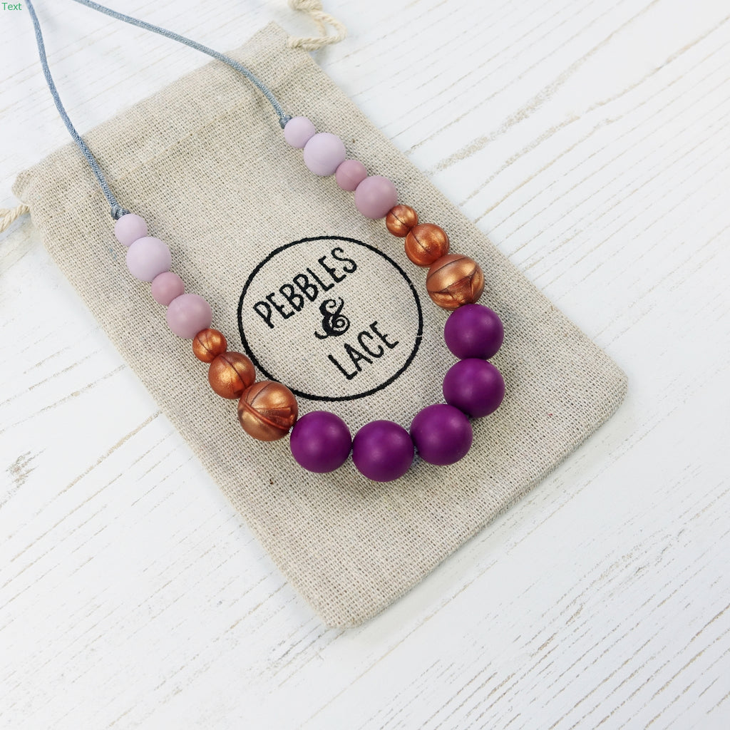 Salsa: Dance With Me Teething Necklace