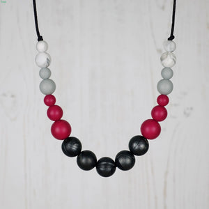 Flamenco: Dance With Me Teething Necklace - Pebbles and Lace