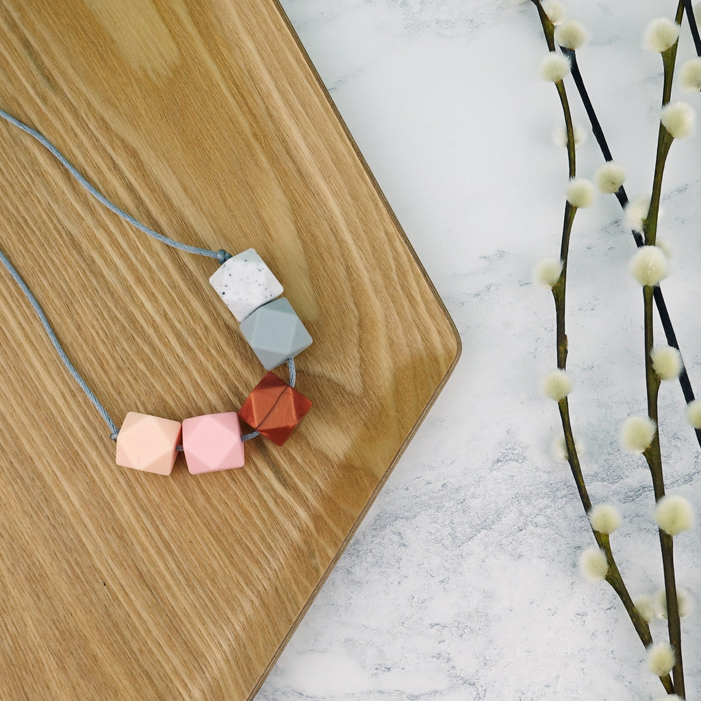 Tokyo: Take Five Teething Necklace