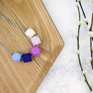 Design Your Own: Take Five Teething Necklace - Pebbles and Lace