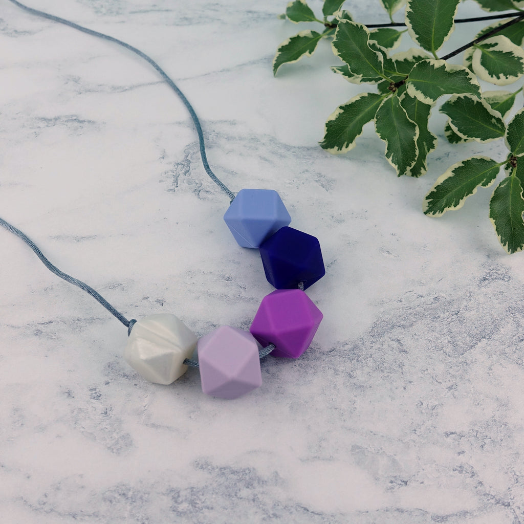 Helsinki: Take Five Teething Necklace