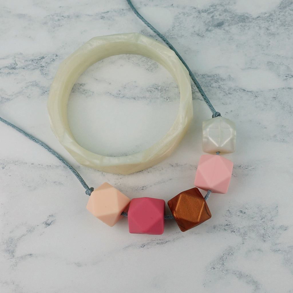 Lima: Take Five Teething Necklace