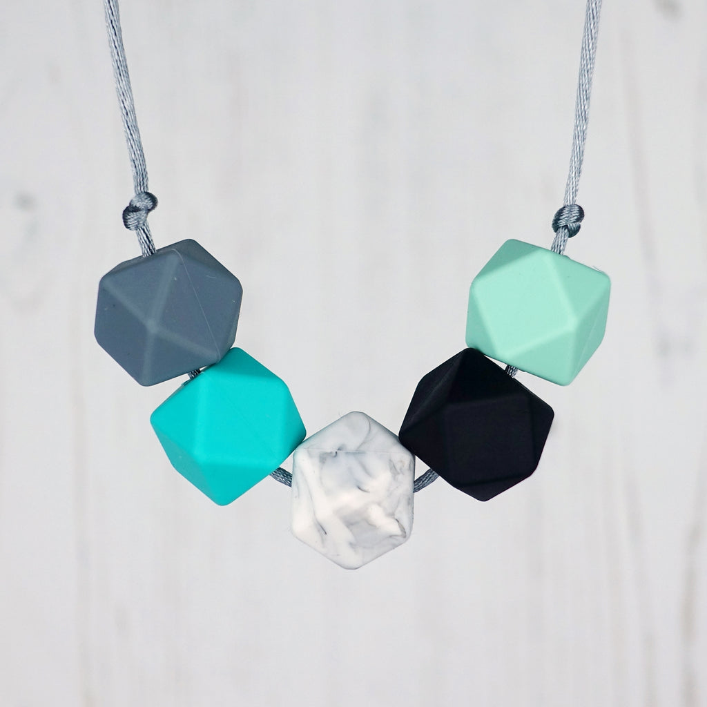 Warsaw: Take Five Teething Necklace
