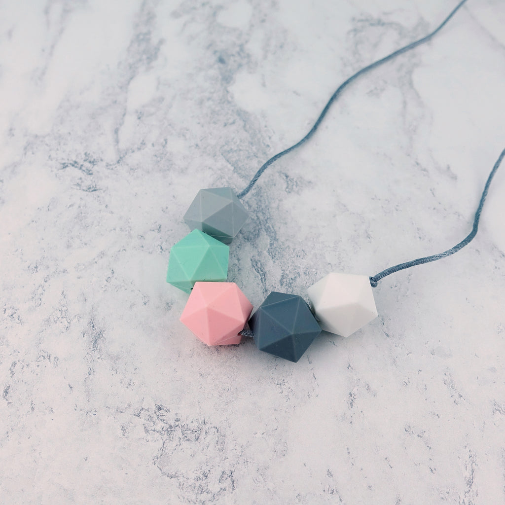 Lyra: Five Stars Silicone Teething Necklace