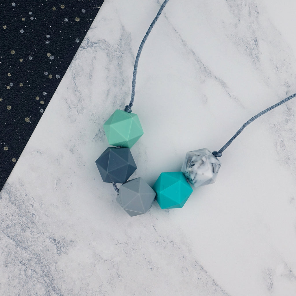 Auriga: Five Stars Teething Necklace