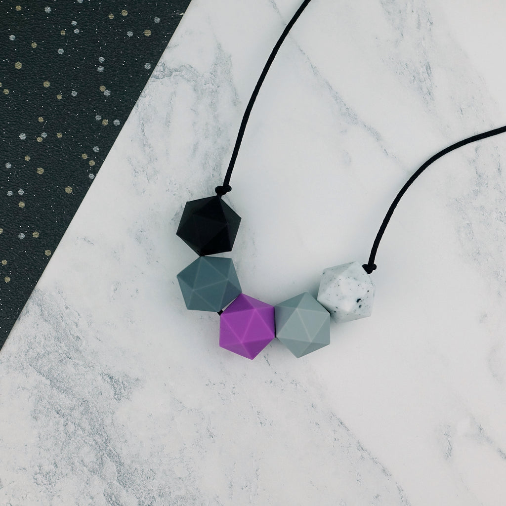 Draco: Five Stars Teething Necklace