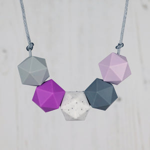 Acrux: Five Stars Teething Necklace - Pebbles and Lace