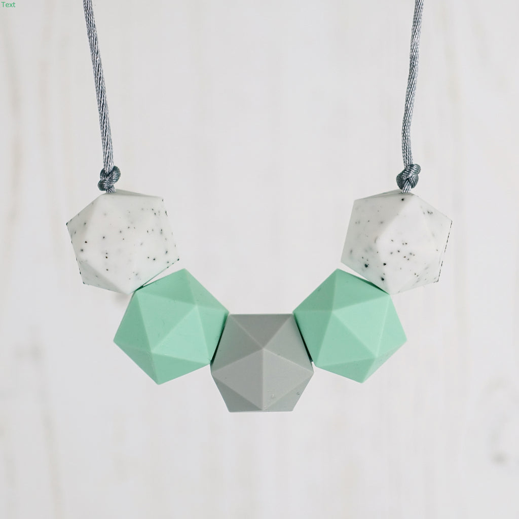 Gemini: Five Stars Teething Necklace
