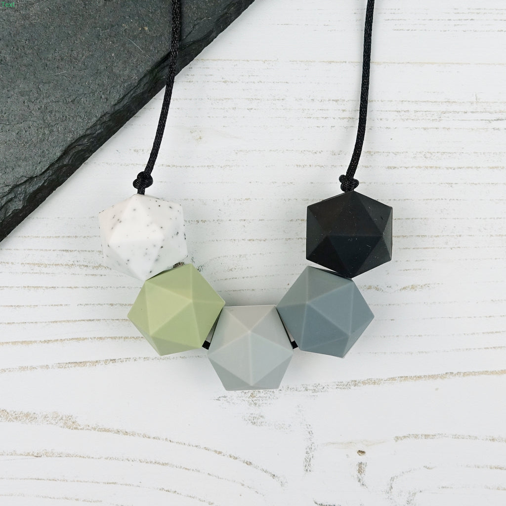 Perseus: Five Stars Teething Necklace