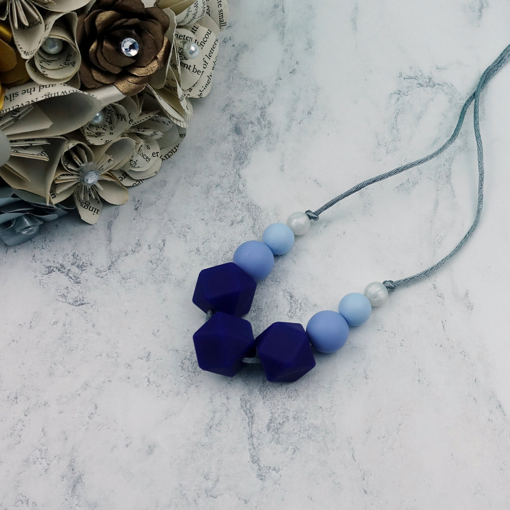 Bluebell Beauty: Flora Silicone Teething Necklace
