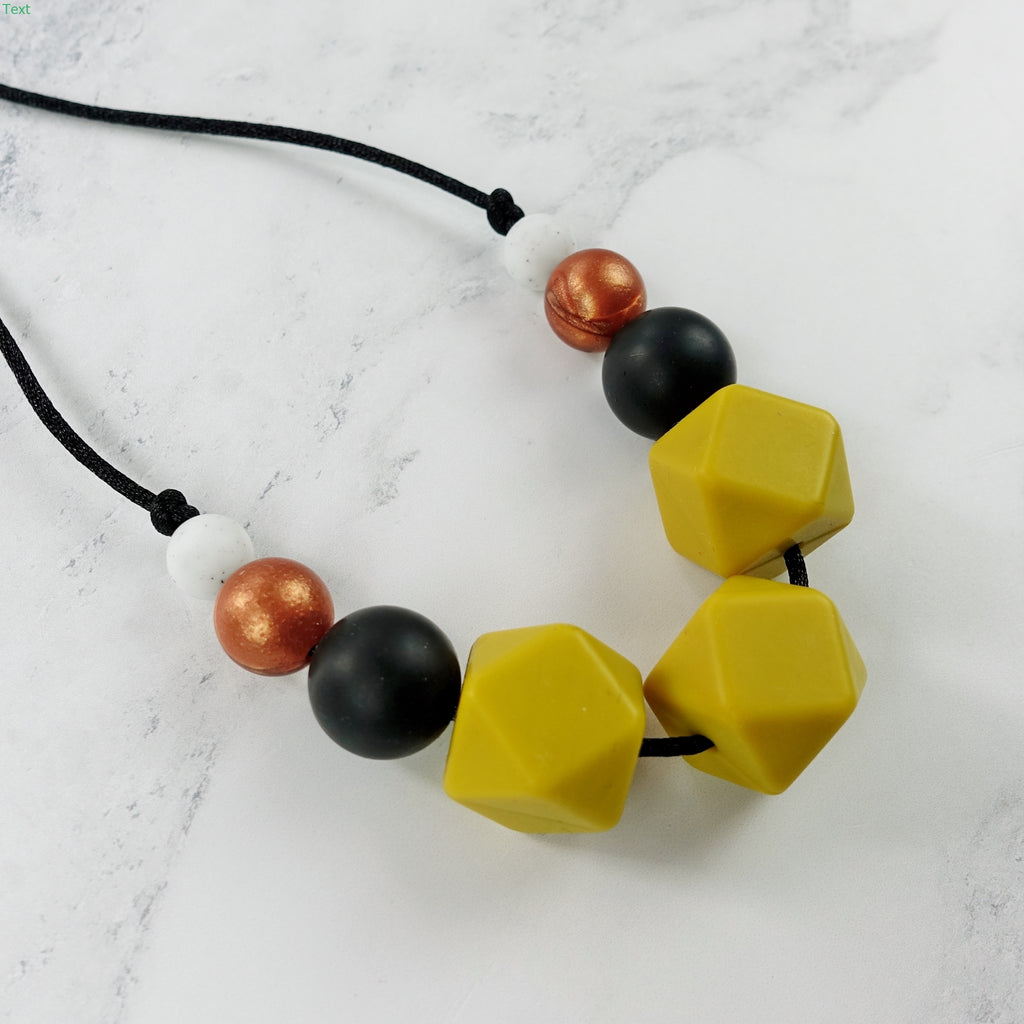 Jasmine Jazz: Flora Teething Necklace