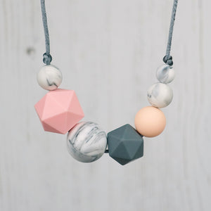 Anne: Inspirations Teething Necklace - Pebbles and Lace