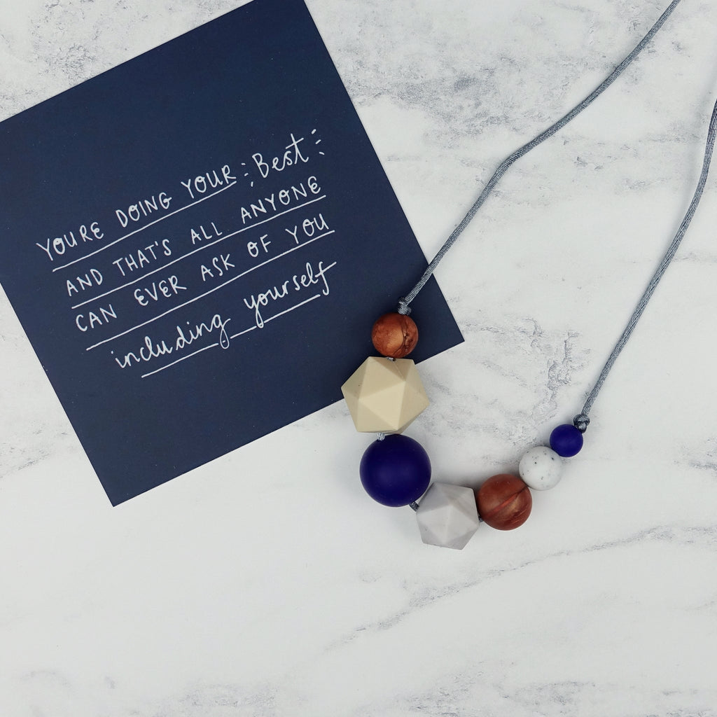 Malala: Inspirations Teething Necklace