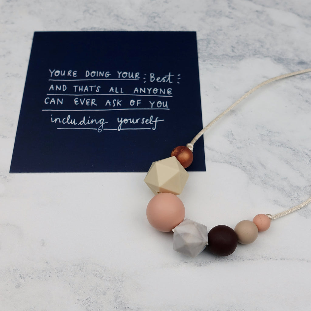 Marie: Inspirations Teething Necklace