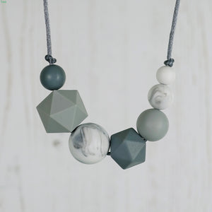 Emma: Inspirations Teething Necklace - Pebbles and Lace