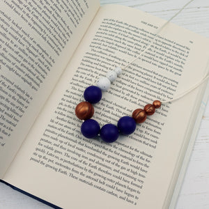 Europa: Lunar Teething Necklace - Pebbles and Lace