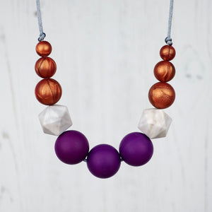 Athena: Odyssey Silicone Teething Necklace - Pebbles and Lace