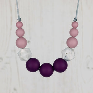 Hera: Odyssey Teething Necklace - Pebbles and Lace