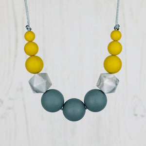 Apollo: Odyssey Silicone Teething Necklace - Pebbles and Lace