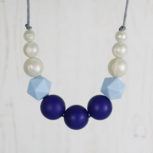 Triton: Odyssey Teething Necklace - Pebbles and Lace